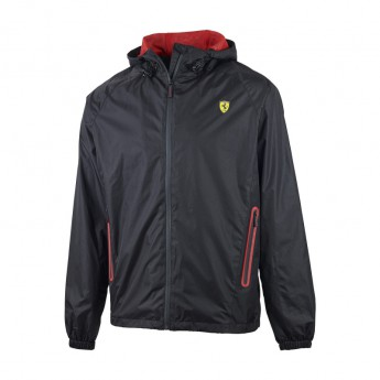 Ferrari pánska bunda jarná Windbreaker black F1 Team