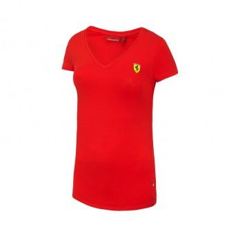 Ferrari dámske tričko V-neck red F1 Team 2016