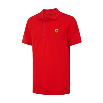 Ferrari pánske polo tričko Classic red F1 Team 2016