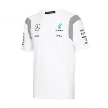 Mercedes AMG Petronas pánske tričko white Team F1 2016