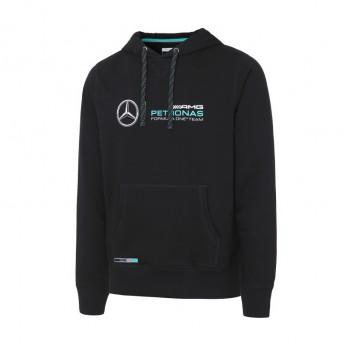 Mercedes AMG Petronas pánska mikina s kapucí black F1 2016