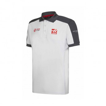 Haas F1 Team polokošeľa grey 2016