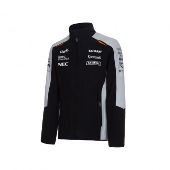 Force India pánska bunda softshell Team Sahara 2016