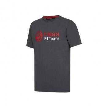Haas F1 Team detské tričko Logo grey 2016
