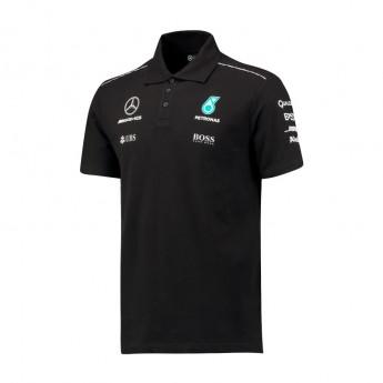 Mercedes AMG Petronas pánske polo tričko black F1 Team 2017