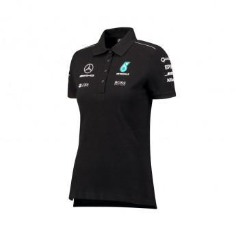Mercedes AMG Petronas dámske polo tričko black F1 Team 2017