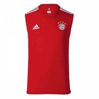 Bayern Mníchov pánske tréningové tielko red 17