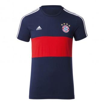 Bayern Mnichov pánske tričko 3S blue-red 17