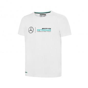 Mercedes AMG Petronas detské tričko logo white F1 2016