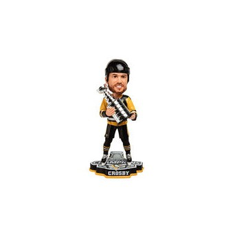 Pittsburgh Penguins Figúrka Sidney Crosby 2017 Stanley Cup Champions Player Bobblehead