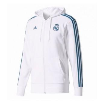 Real Madrid pánska mikina white 3S
