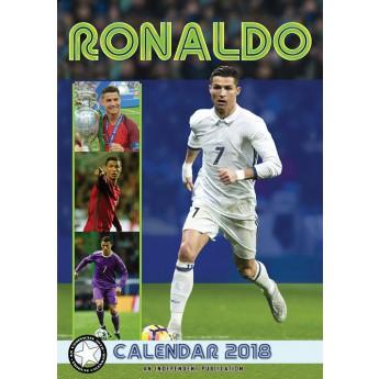 Cristiano Ronaldo kalendár 2018 (29,7 x 42 cm) A3