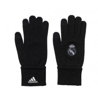 Real Madrid zimné rukavice black 17