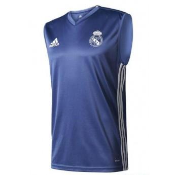 Real Madrid pánske tréningové tielko trg blue