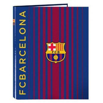 FC Barcelona krúžkový zakladač A4 unicato due