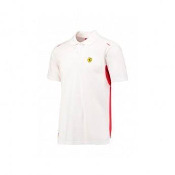 Scuderia Ferrari pánske polo tričko Kimi due white F1 Team 2017