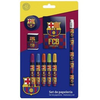 FC Barcelona set školských pomôcok campions one
