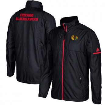Chicago Blackhawks pánska bunda black Authentic Rink Full-Zip Jacket