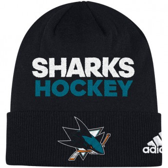 San Jose Sharks Zimná čiapka Locker Room 2017