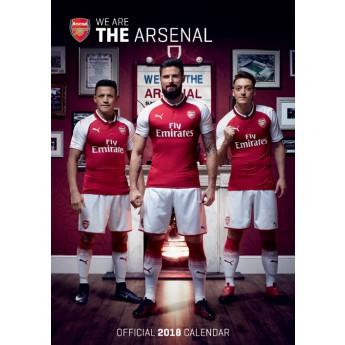 FC Arsenal kalendár 2018 (29,7 x 42 cm) A3
