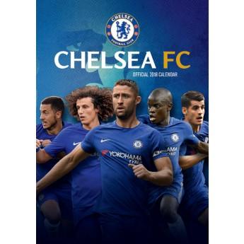 FC Chelsea kalendár 2018 (29,7 x 42 cm) A3