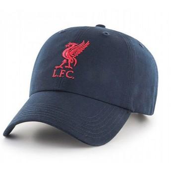 FC Liverpool čiapka baseballová šiltovka blue logo red