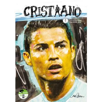 Christiano Ronaldo kalendár 2018 (29 x 42cm) + 12 samolepiek