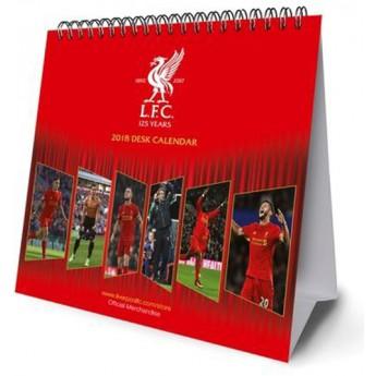 FC Liverpool kalendár 2018 (16 x 17,5 cm)