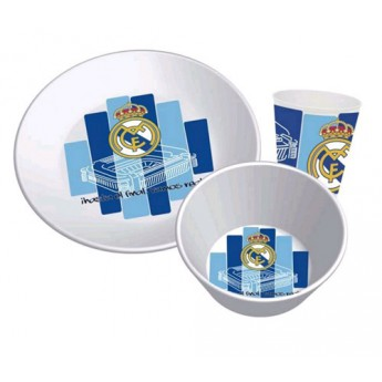 Real Madrid kuchynský riad white Hala