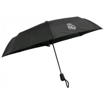Real Madrid skladací dáždnik black logo