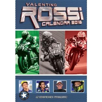 Valentino Rossi kalendár 2018 (29,7 x 42 cm)