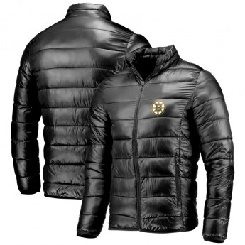 Boston Bruins zimná pánska bunda NHL Polyester Puffer