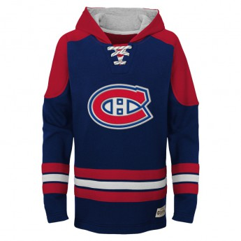 Montreal Canadiens detská mikina blue NHL Legendary Pullover