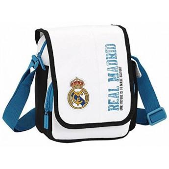 Real Madrid taška na rameno whiteblue-logo