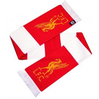 FC Liverpool zimná šál redwhite logo