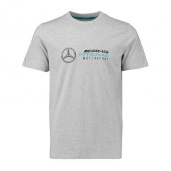 Koszulka męski Logo szara Mercedes AMG 18