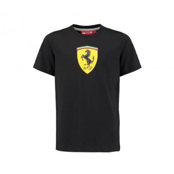 Scuderia Ferrari detské tričko Classic black F1 2018