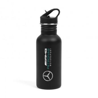 Mercedes AMG Petronas fľaša na pitie black F1 2018