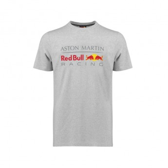 Red Bull Racing pánske tričko Large Logo grey 2018
