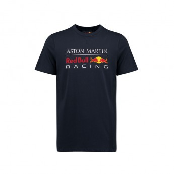 Red Bull Racing pánske tričko Large Logo dark blue 2018