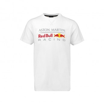 Red Bull Racing pánske tričko Large Logo white 2018
