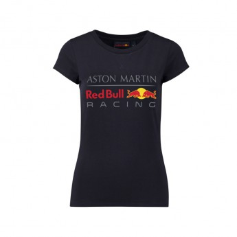 Red Bull Racing dámske tričko Large Logo dark blue 2018