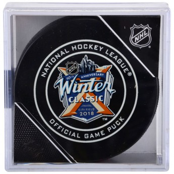 NHL produkty zberateľský puk 2018 NHL Winter Classic Official Game Puck