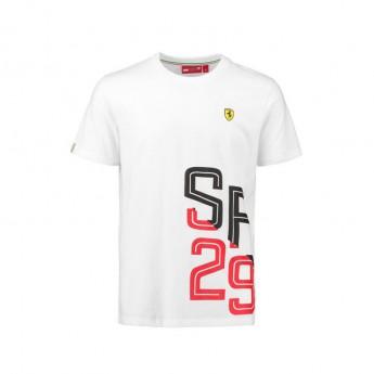 Scuderia Ferrari pánske tričko white SF 29 F1 Team 2018