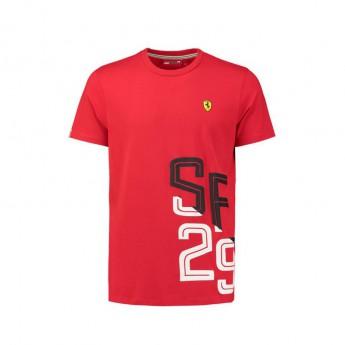 Scuderia Ferrari pánske tričko black SF 29 F1 Team 2018