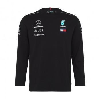 Mercedes AMG Petronas pánske tričko Longsleeve black F1 Team 2018