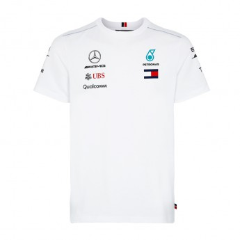 Mercedes AMG Petronas pánske tričko white F1 Team 2018