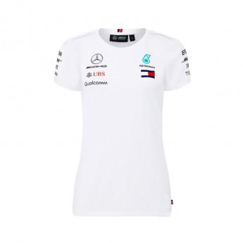 Mercedes AMG Petronas dámske tričko white F1 Team 2018