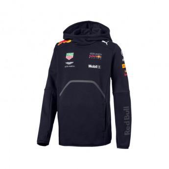 Puma Red Bull Racing detská mikina Hoodie navy F1 Team 2018