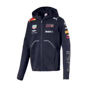 Red Bull Racing pánska mikina s kapucňou Hoodie navy F1 Team 2018